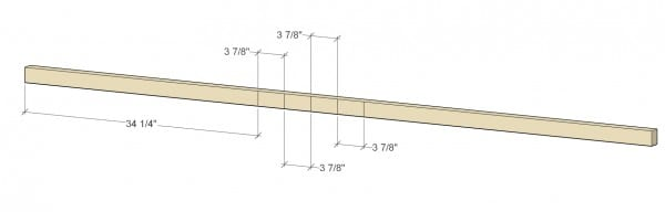 Remodelaholic Floating Shelf 2x4 Supports