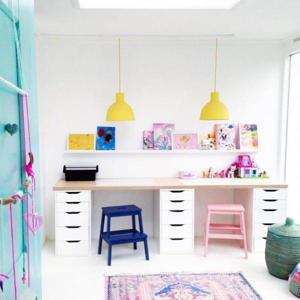 5 Tips to Create a Kid's Desk Homework Station