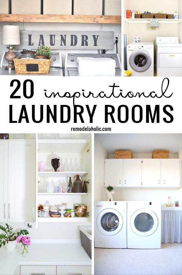 Postbox Designs: Create a Farmhouse Laundry Room on a Budget