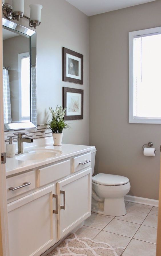 Real life rooms a simple and cost effective bathroom update for Cost effective bathroom renovations