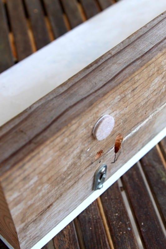 DIY Wood Wall Hanging Shelf ApieceofRainbowblog (11)