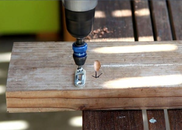 DIY Wood Wall Hanging Shelf ApieceofRainbowblog (5)