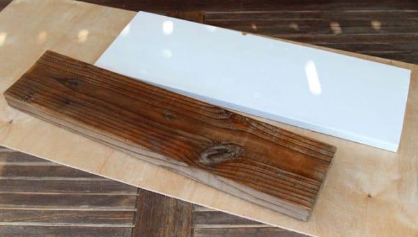 DIY Wood Wall Hanging Shelf ApieceofRainbowblog (7)