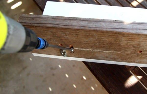 DIY Wood Wall Hanging Shelf ApieceofRainbowblog (9)