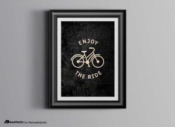 Enjoy The Ride Free Printable Graphic AD Aesthetic For Remodelaholic Horizontal
