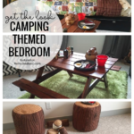 Go On A Camp Out Every Night With This Fun Camping Themed Kids' Bedroom And We Will Share All Of The Details On How To Get The Look Featured On Remodelaholic.com