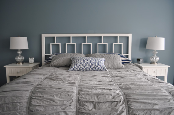 How To Build Your Own Rectangular Fretwork Headboard, By Decor And The Dog Featured On @Remodelaholic