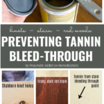 Preventing Tannin Bleed Through When Painting Wood Furniture By Pneumatic Addict For Remodelaholic