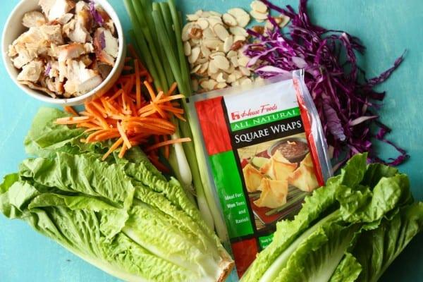 Remodelaholic Recipe Oriental Chicken Salad 1