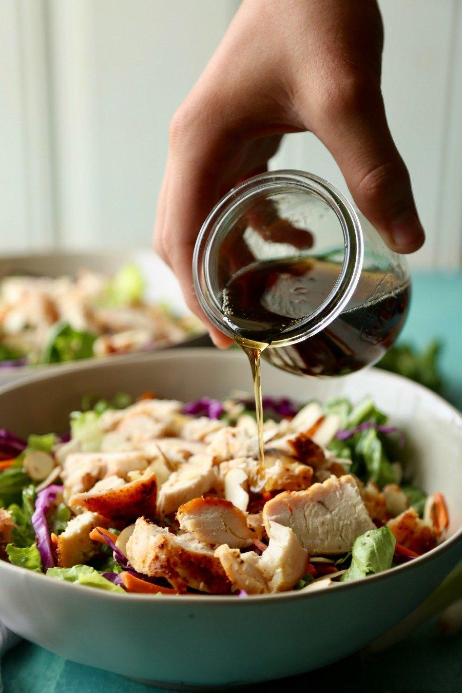 Remodelaholic Recipe Oriental Chicken Salad 4