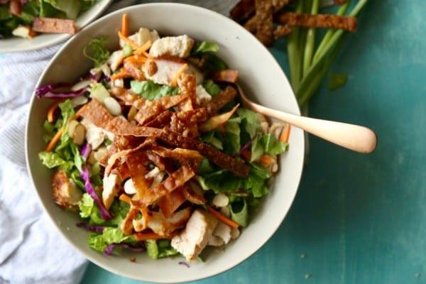 Remodelaholic Recipe Oriental Chicken Salad 6