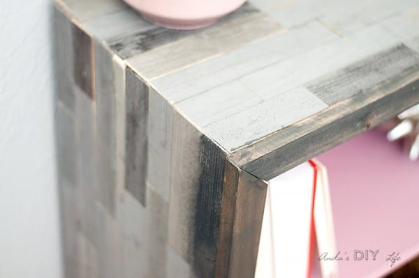 Bookshelf Makeover Rustic And Pink, Anika's DIY Life
