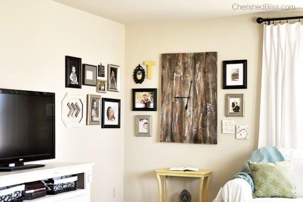 Corner Gallery Wall, Cherished Bliss