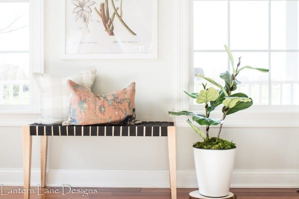 Diy Faux Fiddle Leaf Fig Tree, Lantern Lane Designs
