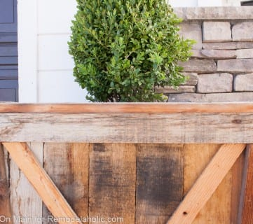 Diy Large Pallet Planter 5