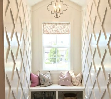 Friday Favorites: Lattice Wainscoting and Reasons to Paint