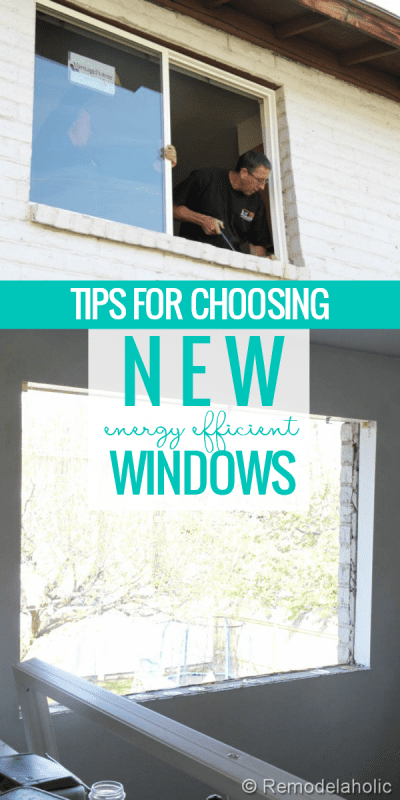Shopping For Windows? Tips For Choosing New Windows for a Remodel, Upgrade, or New Home #remodelaholic