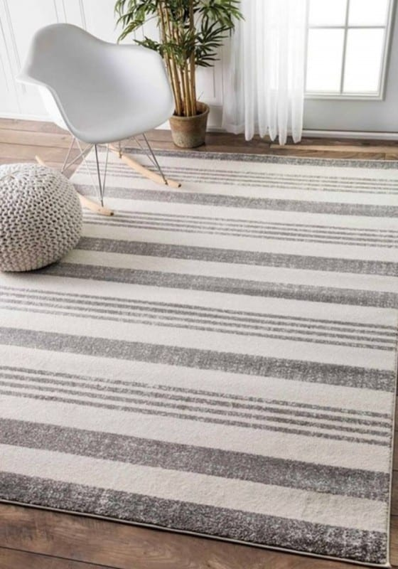 Striped Farmhouse Rug