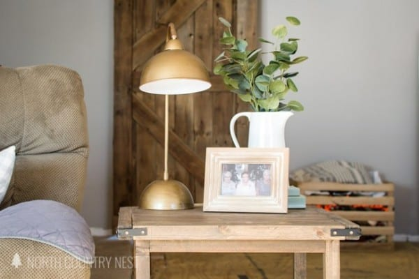 DIY Antique Bronze Lamp 14
