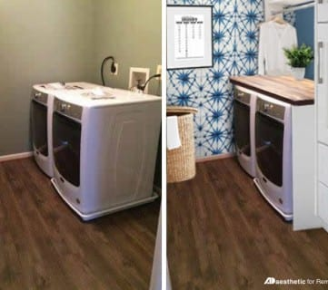 Real Life Rooms: A Simple Laundry Room Update to Add Color and Character Featured Image
