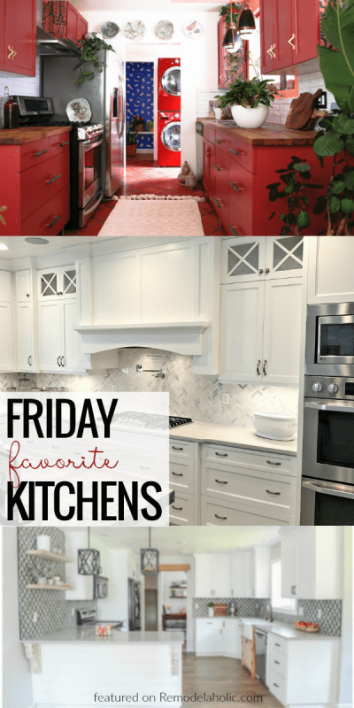 Friday Favorite Kitchens And More #remodelaholic