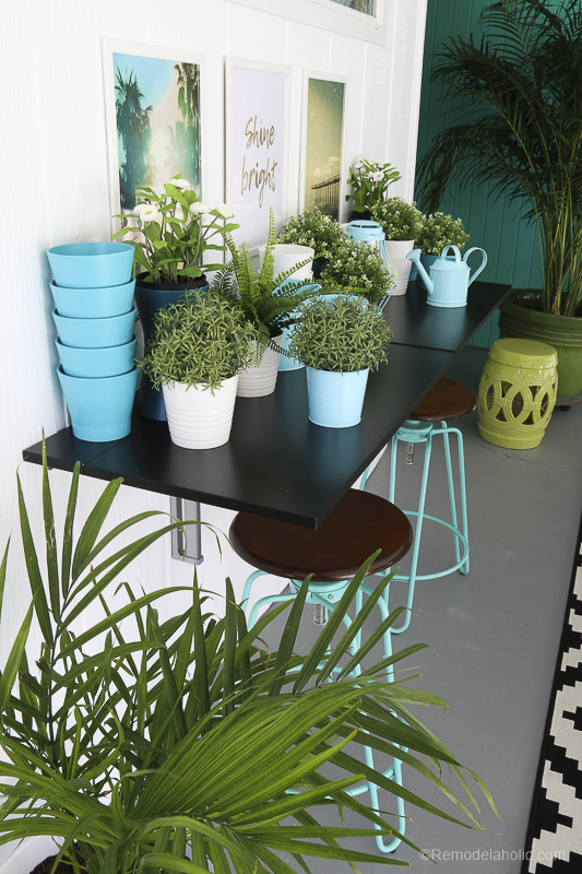 Remodelaholic Budget Friendly Outdoor Dining Space With