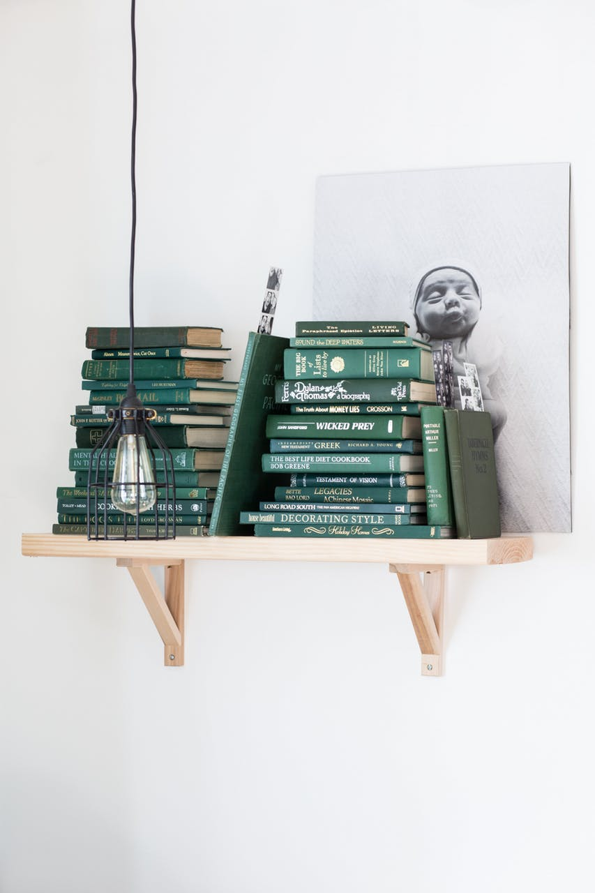 Remodelaholic Color Files Jade Green Bookshelf 1