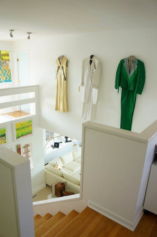 Remodelaholic Color Files Jade Green Clothing As Wall Art 2