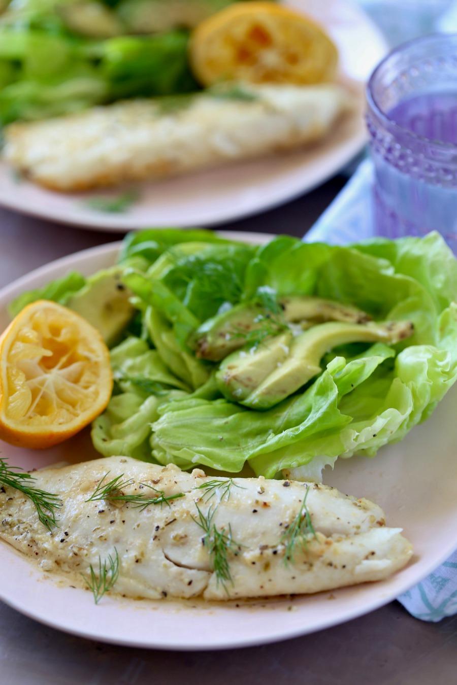 Remodelaholic Recipes Baked Lemon Tilapia 4