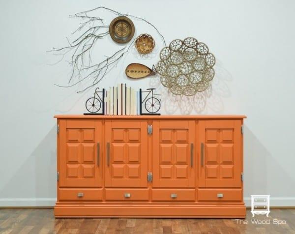 The Wood Spa Orange Buffet 1 1