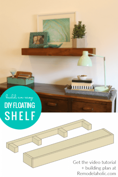 Customizable Floating Shelf