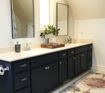 $950 Budget Bathroom Makeover: How I Updated My Bathroom Without a Full Remodel