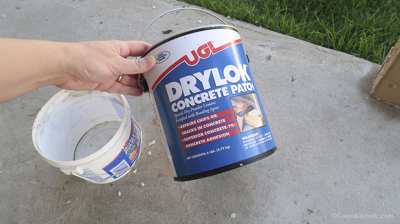 Painting A Patio With UGL Epoxy Floor Paint @Remodelaholic 20