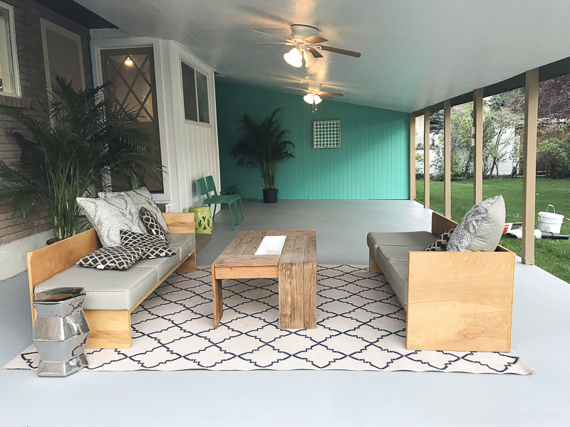 - How To Paint A Concrete Patio With Tutorial & Tips