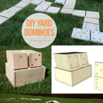 Printable Dominoes Scorecard And Game Instructions, Wood Domino Tutorial For Yard Games, Remodelaholic