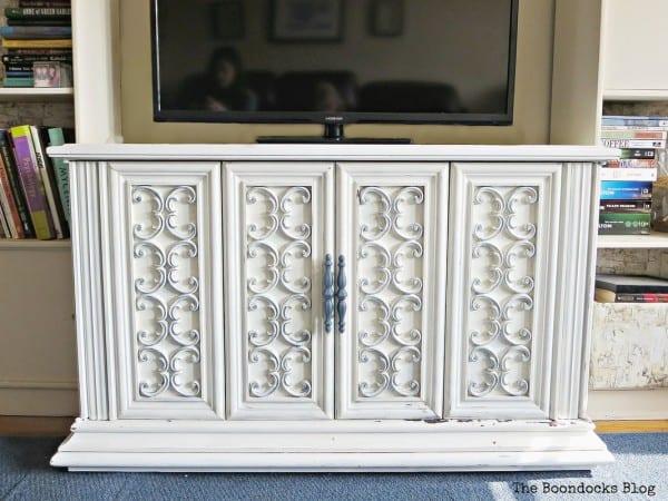 Vintage Tv Cabinet Makeover Boondocks Blog