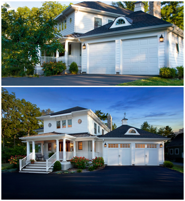 Garage Door Before And After @remodelaholic