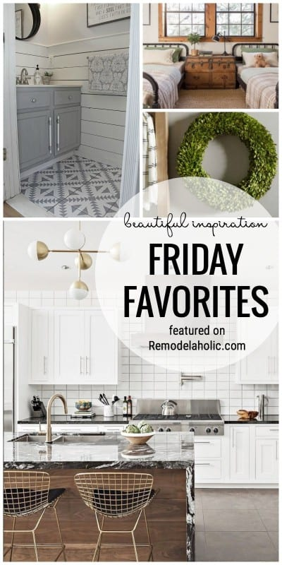 Looking For Some Beautiful Inspiration Check Out This Week's Friday Favorites On Remodelaholic.com Featuring Beautiful Rooms And Plywood Tips