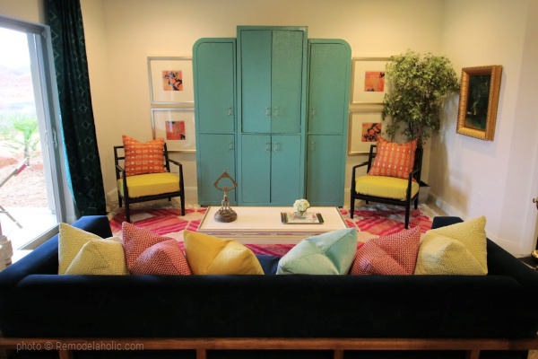 Decorate With Color Living Room, SGPH 2017 House 15 Ivory Southern, Photo Remodelaholic