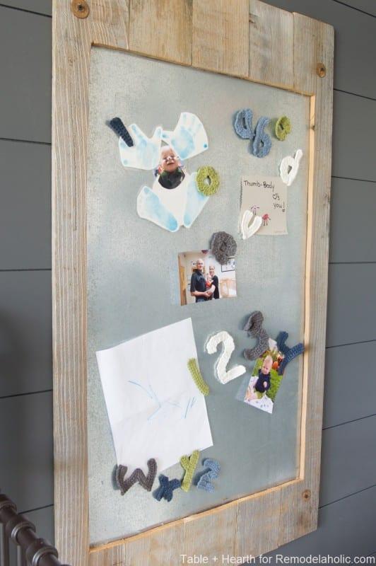 Table And Hearth Metal Display Board 21