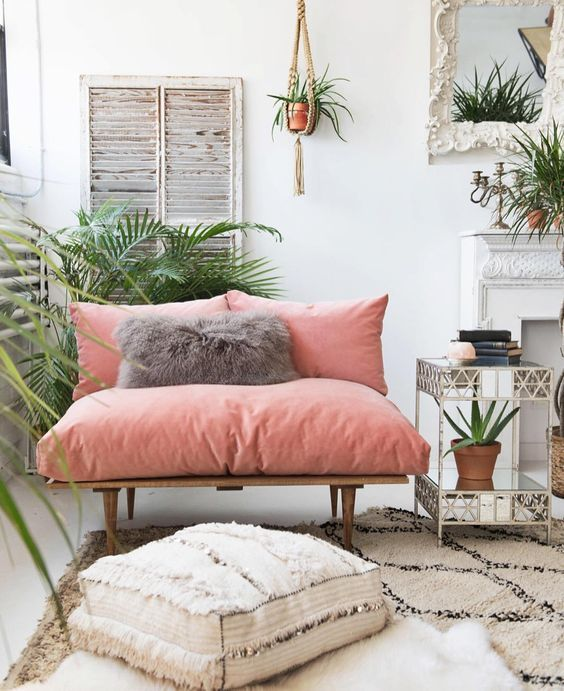 Give your home a punch of color and a breath of fresh texture with this tropical decor inspiration #remodelaholic #moodboard