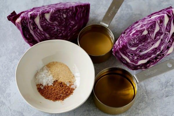 Remodelaholic Recipe Red Cabbage Slaw 1