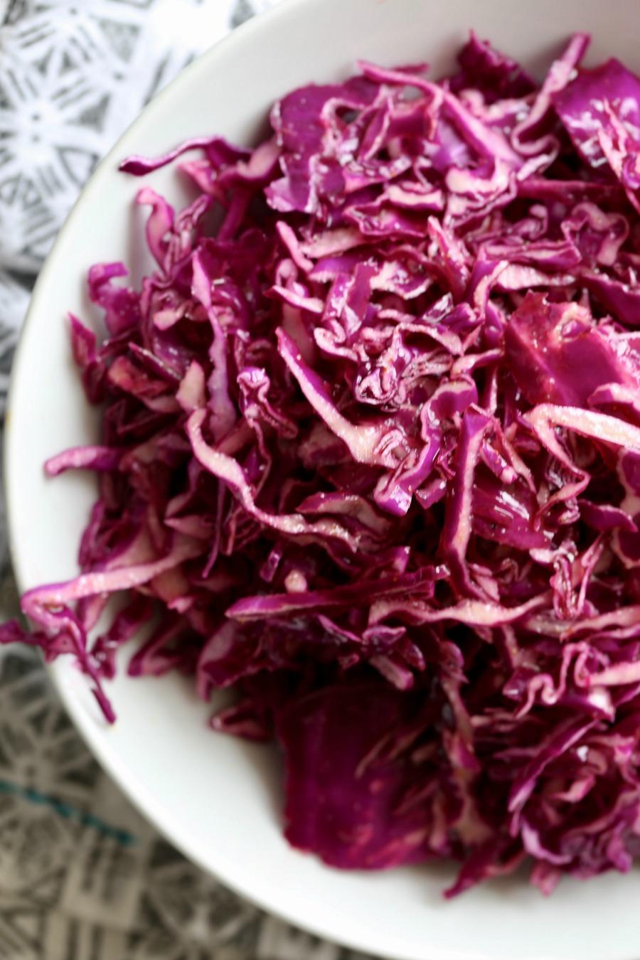 Remodelaholic Recipe Red Cabbage Slaw 4