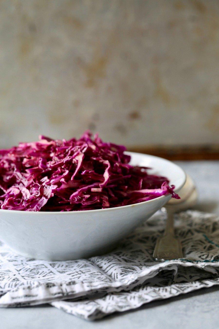Remodelaholic Recipe Red Cabbage Slaw 5