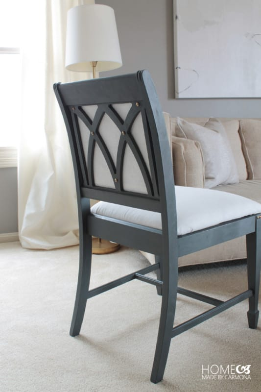Chair Makeover Designed Backing