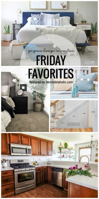 Gorgeous Home Design Inspiration Featured On Remodelaholic.com For Friday Favorites