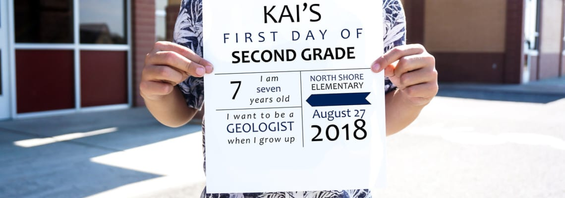 Editable Printable First Day of School Signs (2021-2022 Update)