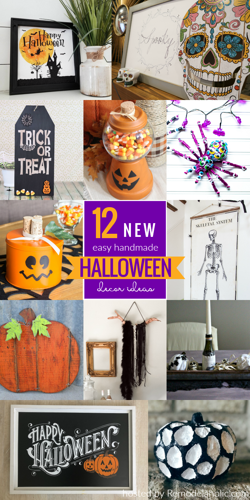 01 Diy Halloween Decor Challenge #remodelaholic