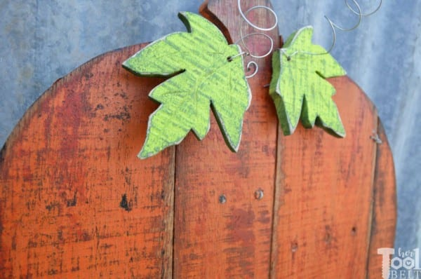 Hertoolbelt Pallet Pumpkin Hertoolbelt Leaf