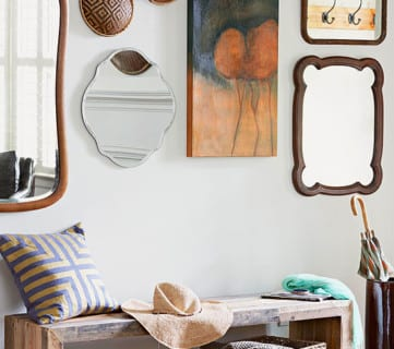Get This Look: Modern Rustic Entryway